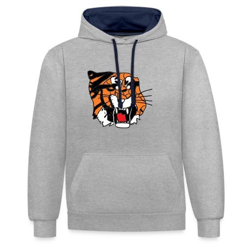 Tigerplaylogo - Kontrast-Hoodie