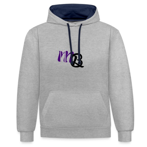 Youtube Merchandise Miranda Bos_YT - Contrast Colour Hoodie