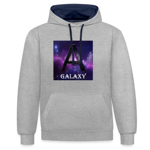 AwL Galaxy Products - Contrast Colour Hoodie