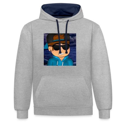 GameDeur - Contrast hoodie