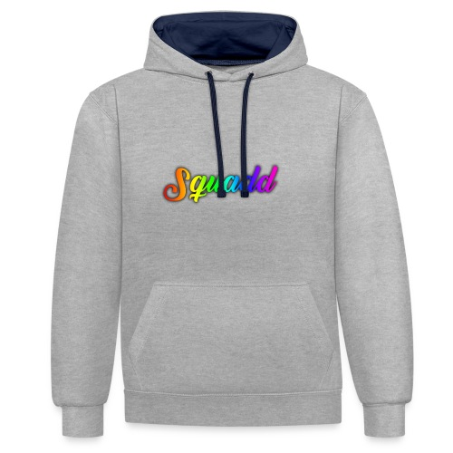 SQUADD - Contrast hoodie