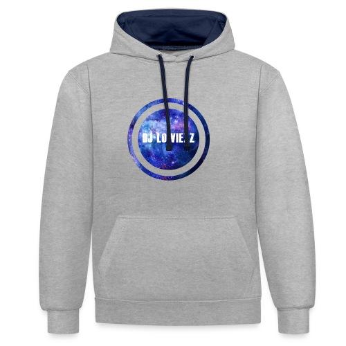 DJ Lowiezz - Contrast hoodie