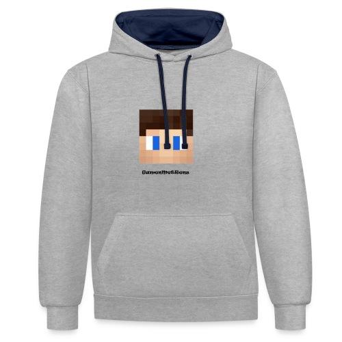 GamenMetRens T-Shirt Grijs - Contrast hoodie