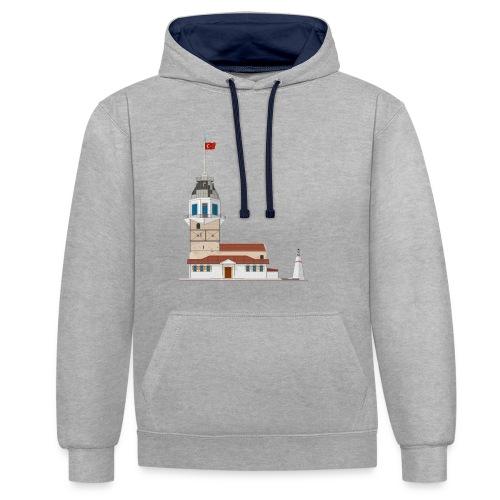 Kiz Kulesi - Contrast hoodie