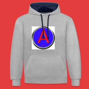 Abnoiz profile merch - Kontrast-Hoodie