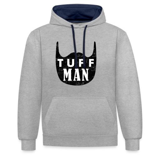 tuffman - Kontrast-Hoodie