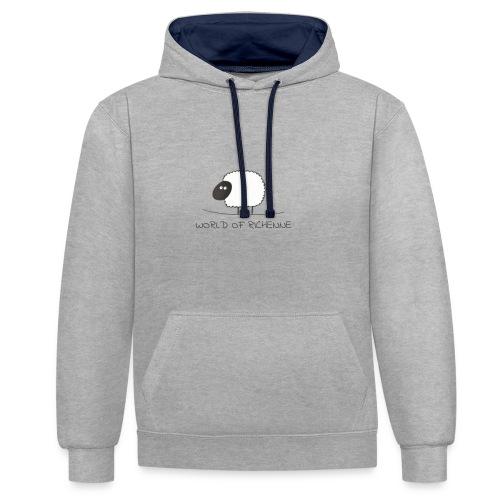 logo_wor_-3- - Contrast hoodie