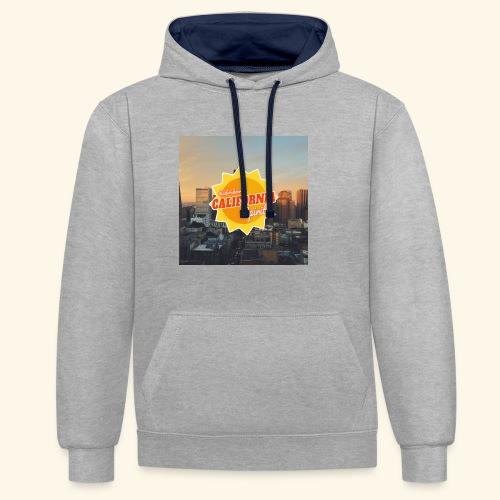 California Spirit City - Sweat-shirt contraste