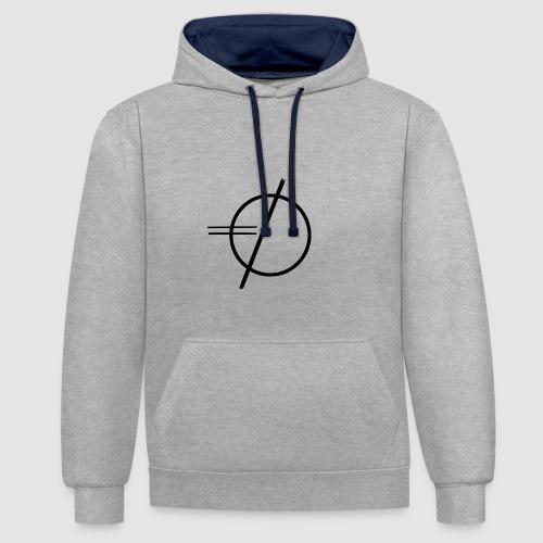ceasless. official pullover - Kontrast-Hoodie