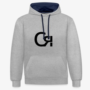 logo cr - Sweat-shirt contraste