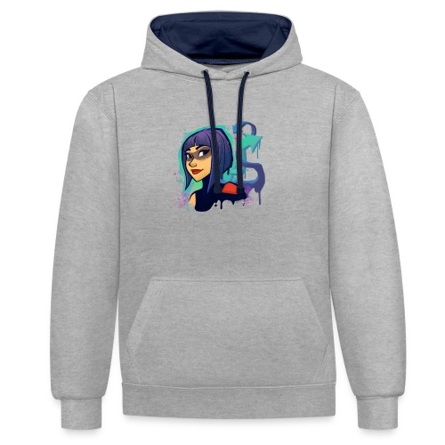 Fortnite Shadow Ops - Contrast Colour Hoodie