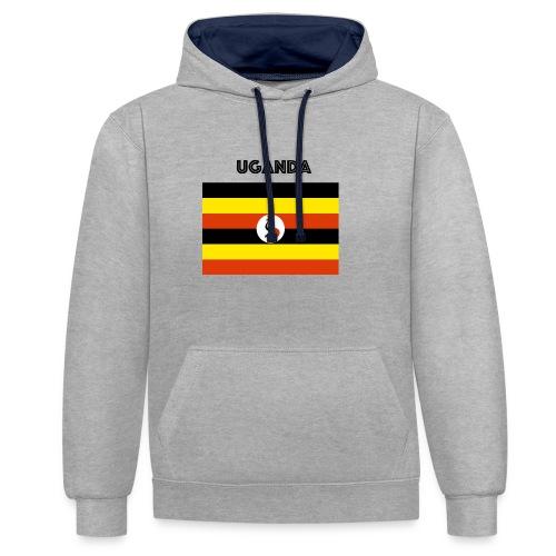 uganda shirt online - Contrast Colour Hoodie