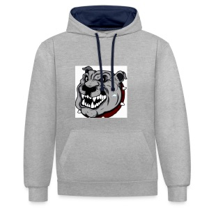 Funny Pitbull - Sweat-shirt contraste