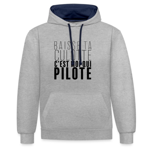 Le Pilote - Sweat-shirt contraste