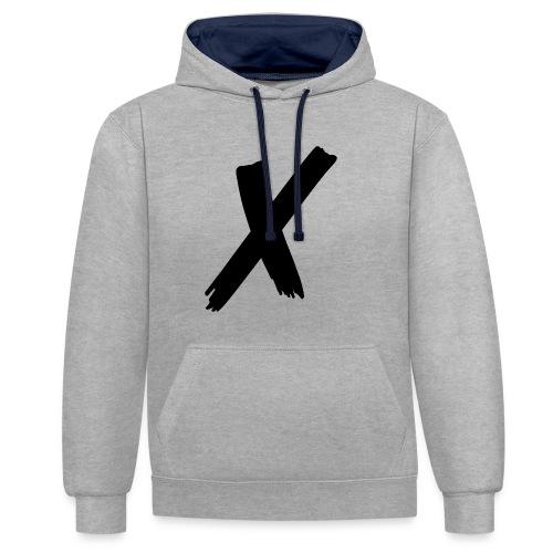 x - Kontrastluvtröja