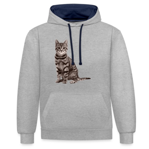 Cute cats (full set) - Contrast Colour Hoodie
