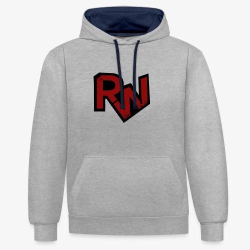 RedWater Logo - Kontrast-Hoodie