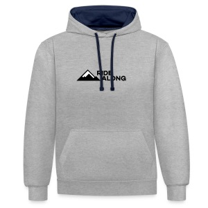 ridealonglogo-png - Contrast hoodie