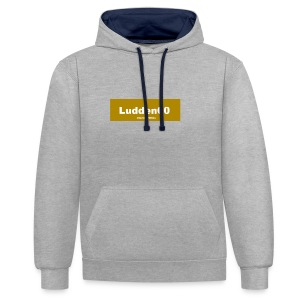 Limeted edition Ludden00 - Kontrastluvtröja