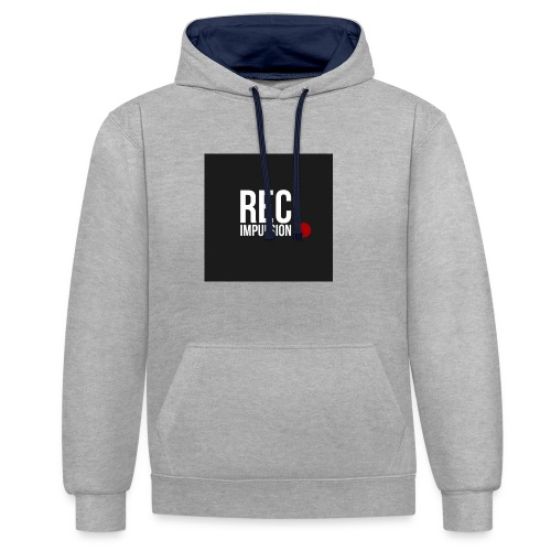 REC - Sweat-shirt contraste