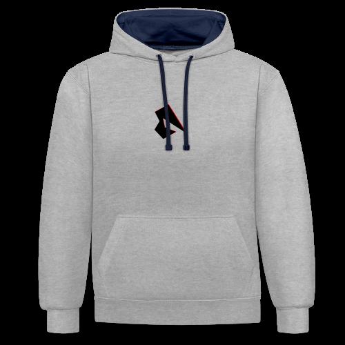 Channel Logo - Kontrast-Hoodie