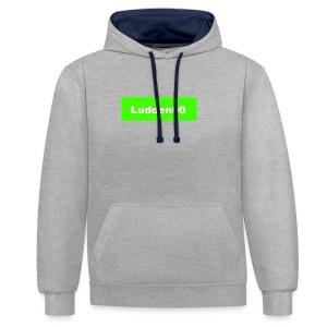 Ludden00 Green - Kontrastluvtröja