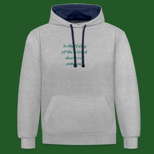 In_Valley_of_the_Wizard-png - Contrast Colour Hoodie