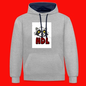 HeadLights Logo Shirt - Contrast hoodie