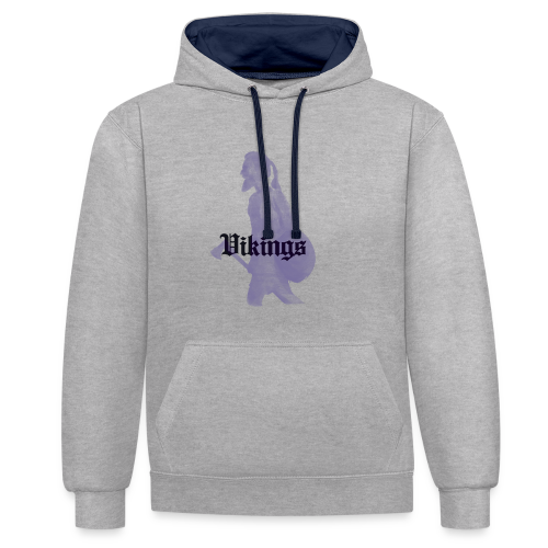 01 viking - Sweat-shirt contraste
