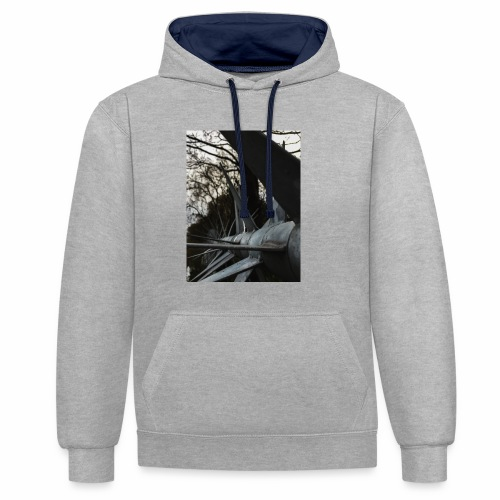 Illusion - Contrast hoodie