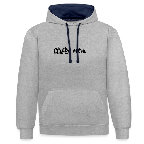 Ouid-Crew - Sweat-shirt contraste