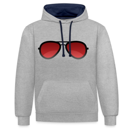 Enzed Sunglass - Sweat-shirt contraste