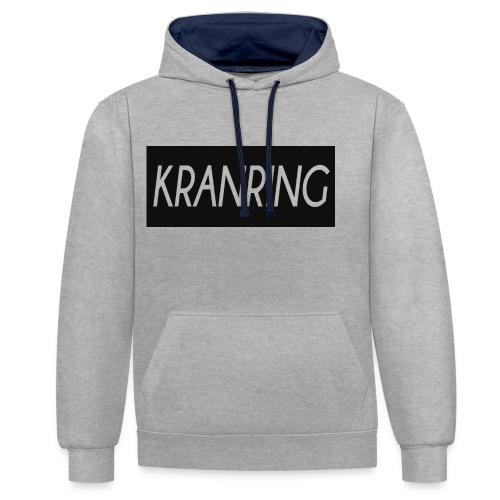 Kranring_Shirt_Logo - Kontrastluvtröja