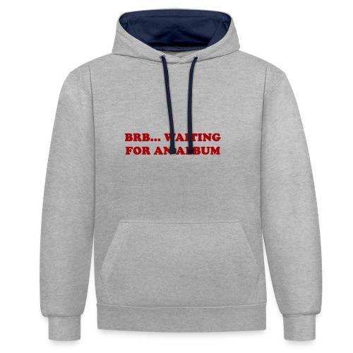 Album Shirt - Contrast hoodie