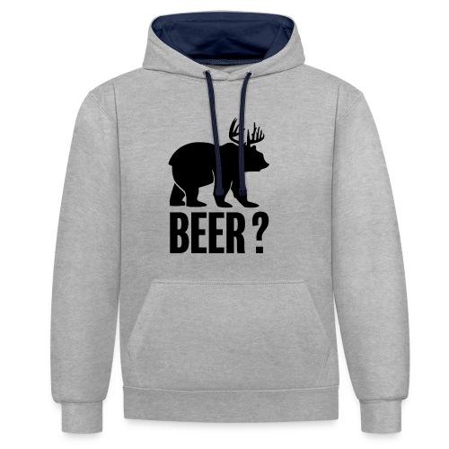 Beer - Sweat-shirt contraste