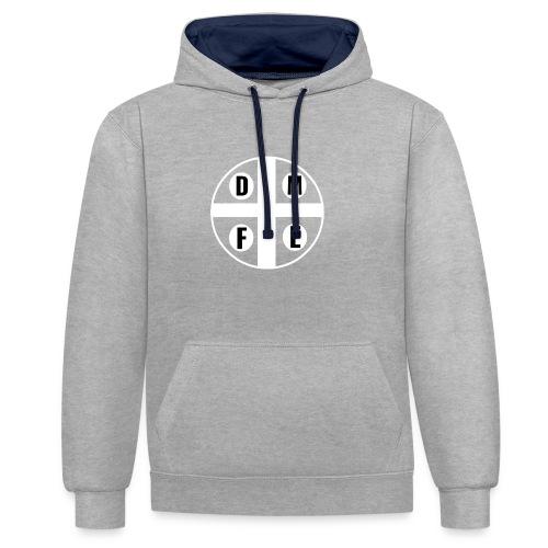 Limited DMFE logo - Kontrast-Hoodie