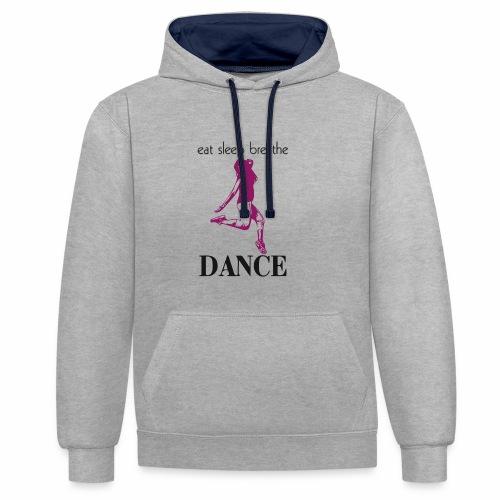 Dance - Contrast Colour Hoodie