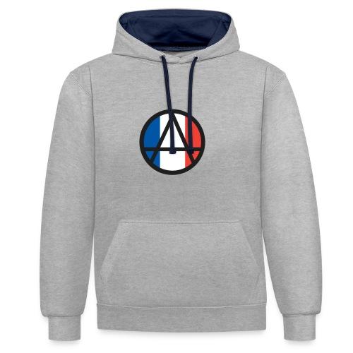Logo ZELA France - Sweat-shirt contraste