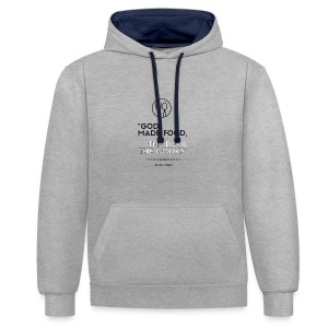 James Joyce Collection: Apron - Contrast Colour Hoodie
