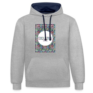 Colour_Design Excluzive - Contrast Colour Hoodie