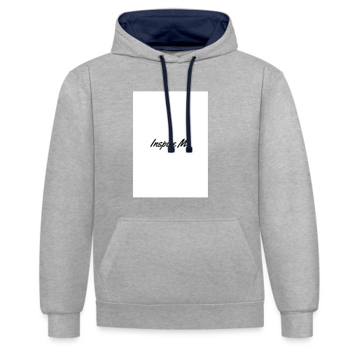 Inspire Me - Contrast Colour Hoodie