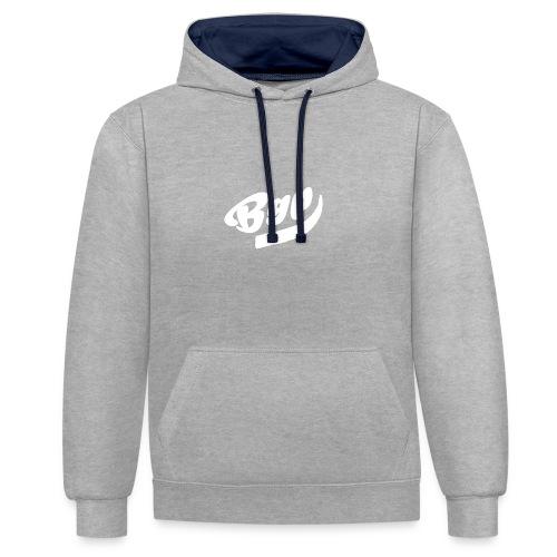 BGP T-Shirt Zwart - Contrast hoodie