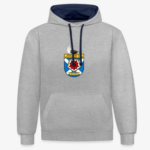 Montrose FC Supporters Club Seagull - Contrast Colour Hoodie