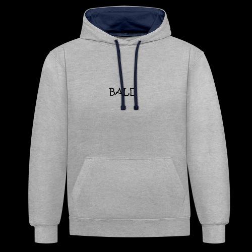 Bald - Contrast hoodie