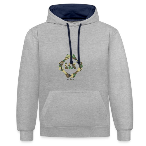 LIXCamoDesign - Contrast Colour Hoodie