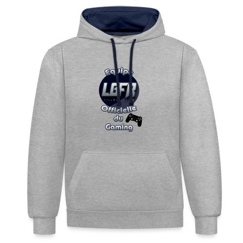 Equipe LGFR - Sweat-shirt contraste