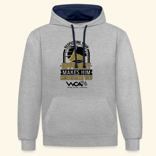 Respecting your opponent - Contrast Colour Hoodie