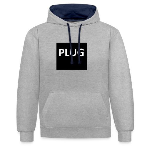 PLUG - Contrast hoodie