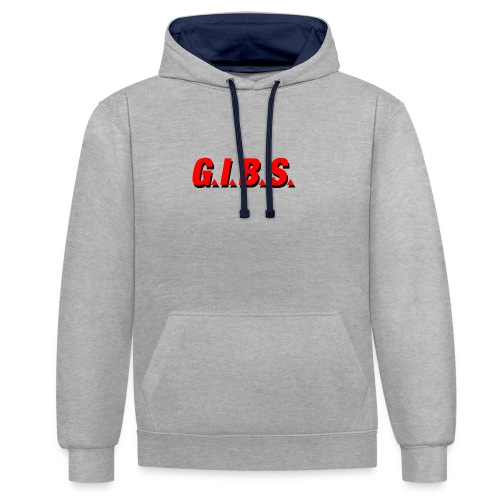 Logo Gibs - Sweat-shirt contraste