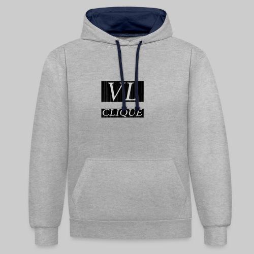 VL CLIQUE - Slim fit T-shirt - Kontrastluvtröja